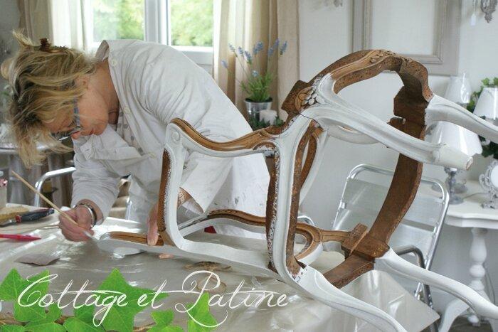 Formation professionnelle Cottage et Patine à l'atelier (17)
