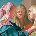 Rare exhibition features drawings and paintings by italian master jacopo da pontormo