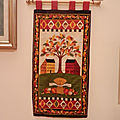 Pannello d'autunno - fall wallhanging - bannière d'automne