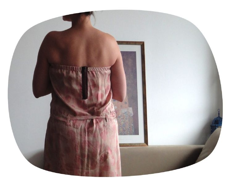 06 2011 La robe qui traînait depuis 18 mois