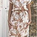 Avril: robe palma