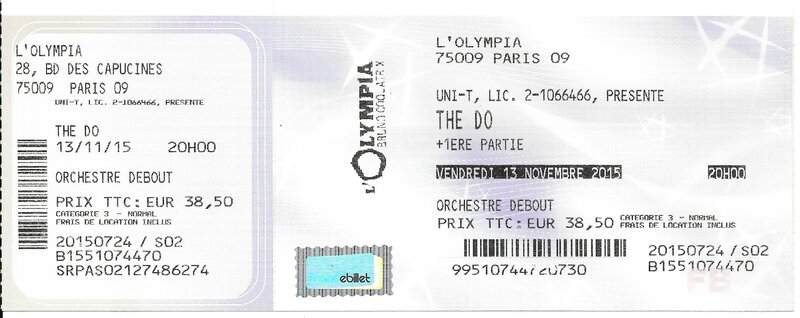 2015 11 13 The Do Olympia Billet