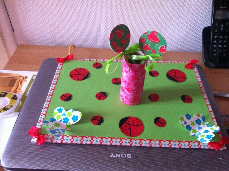 centre de table anniversaire cocccinelle