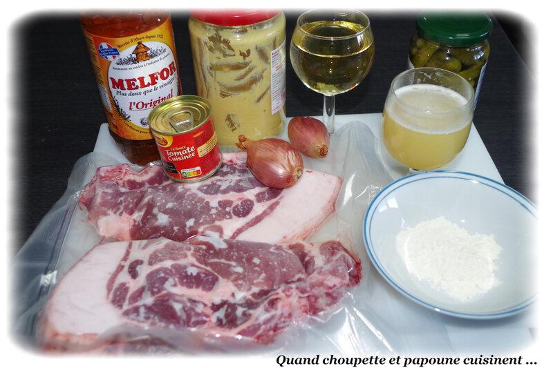 côte de porc charcutière-2311