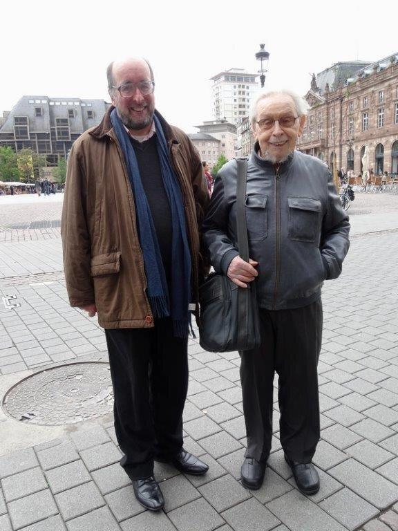 Louis Pétriac et Marc Herrand Strasbourg