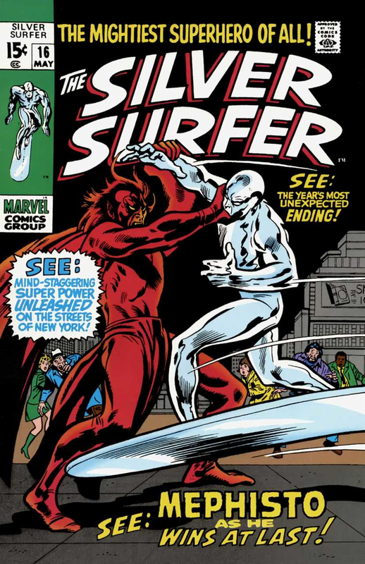 silver surfer 1968 16