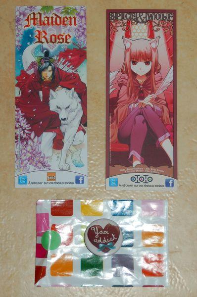 Point Manga cadeaux