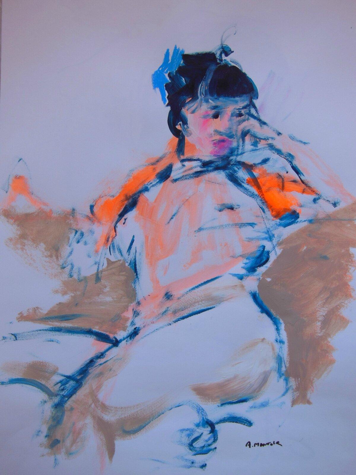 6-dessin peinture tableau de nu d'atelier (1)