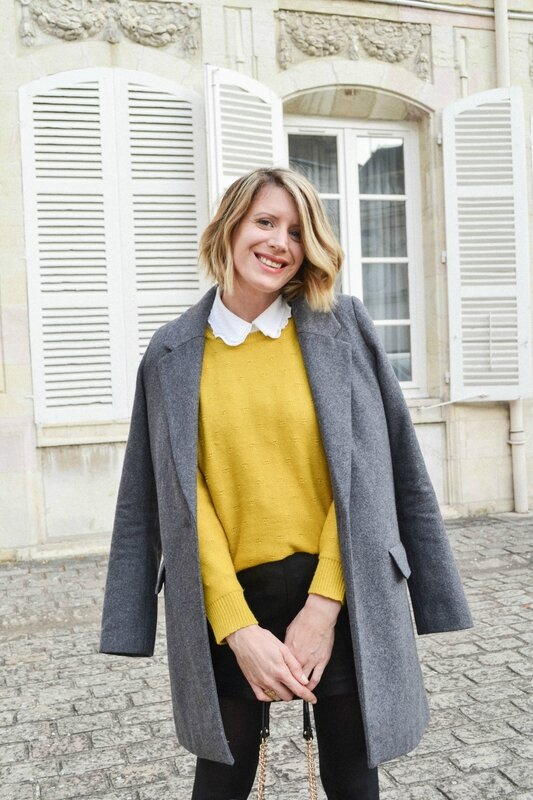 Preppy in yellow - Styl iz (2)