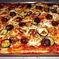Pizza poivron & chorizo