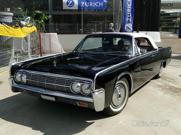 lincoln continental convertible sedan 1963 a