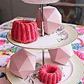 Angel cake tout rose (recette légère)