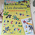 Les chevaliers (décalcomanies)