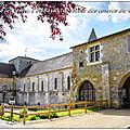 Fontaine le comte, l'abbaye augustine des comtes du poitou