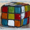 Gâteau rubik cube