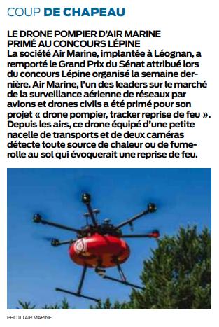 2018 05 15 SO Drone sapeur-pompier lépine