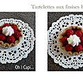 Défilé 1 tartelettes fraises