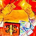 Le vraie portefeuille magique,réactivation du faux portefeuille