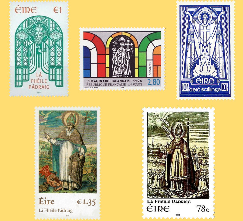 Timbres Saint Patrick
