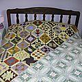 Farmer's wife sampler quilt.