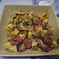 Sauté de porc au chorizo et légumes variés