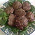 Kefta turc ( boulette de viande hachée )