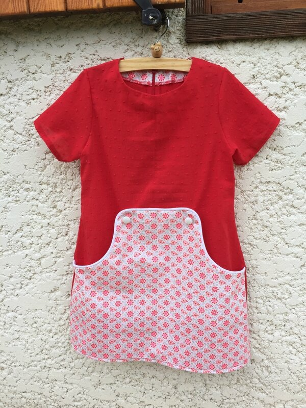 Louisa Dress (taille 6 ans)