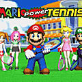 Test de mario power tennis (wii) - jeu video giga france