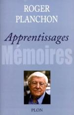 Planchon, Apprentissages, couv