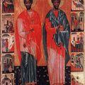 Neuvaine aux saint côme et saint damien