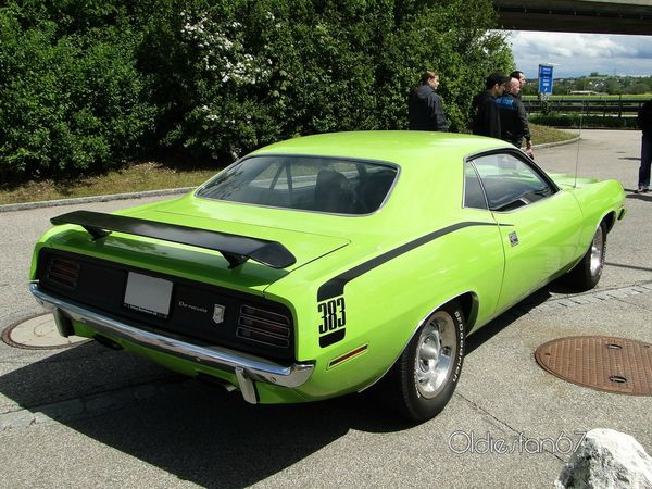 plymouth barracuda 383 hardtop coupe 1970 b