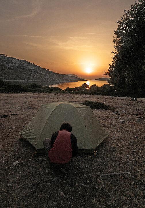 Kyra Panagia, baie de Agios Petros — P1010488