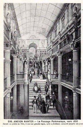 Ancien Nantes - Le passage Pommeraye