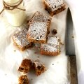 Carrot cake comme un brownie