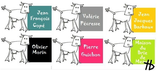 6 vaches