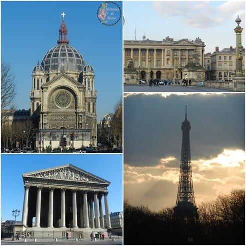 4 divers monuments
