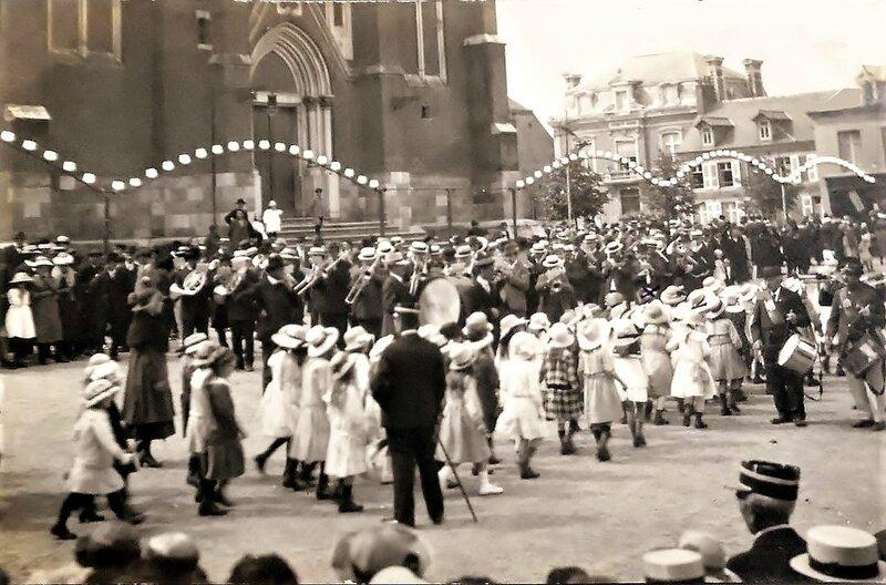 FOURMIES-14 Juillet 1920