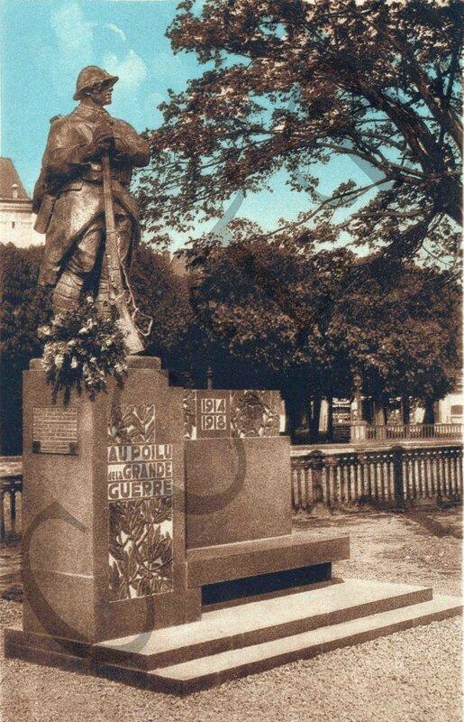 Square du Souvenir 1928-32a Poilu CCTB