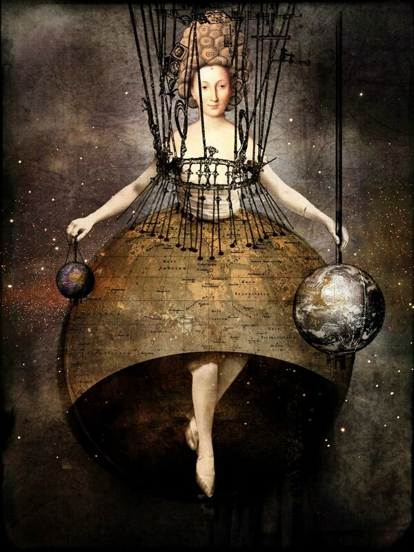 Catrin Welz-Stein - German Surrealist Graphic Designer - Tutt'Art@ (82)