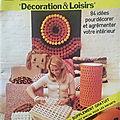 Catalogue phildar décoration & loisirs
