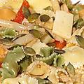 Salade de pâtes aux asperges