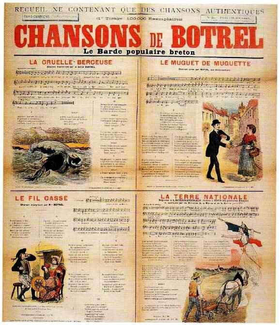 Chansons de Botrel