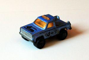 Chevrolet Blazer depanneuse de chez Majorette (1