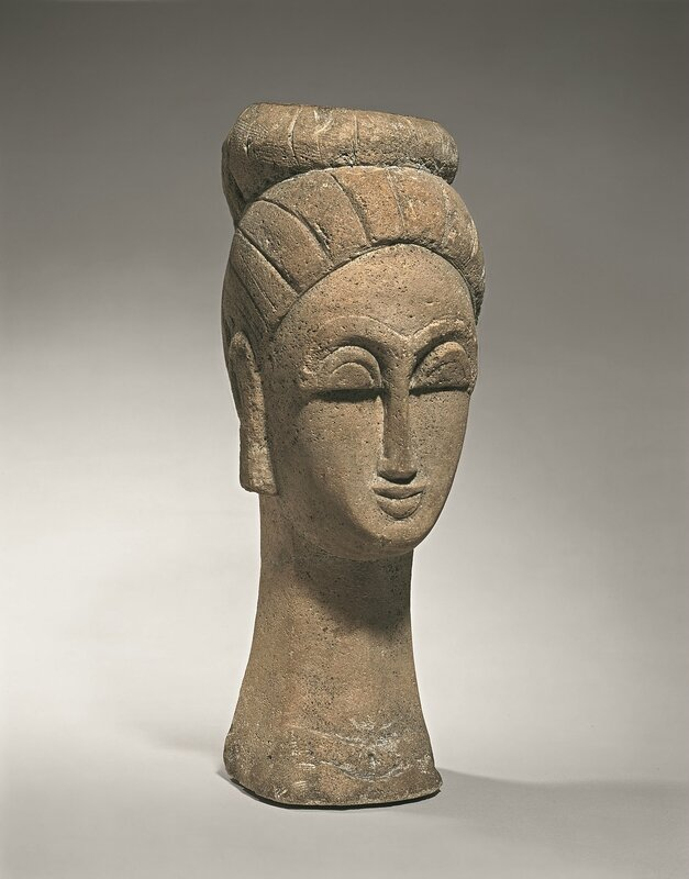 ID29 - Woman's Head (With Chignon), 1911-12