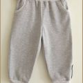 Tee-shirt jersey rayé violet gris et pantalon7
