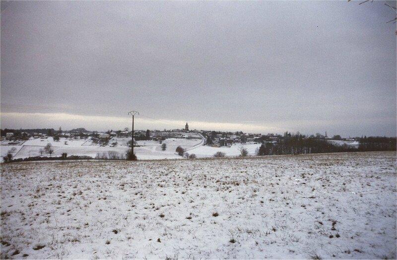 Penlèbre sous la neige