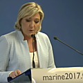 Marine le pen sur france 2 le 09/11/2016