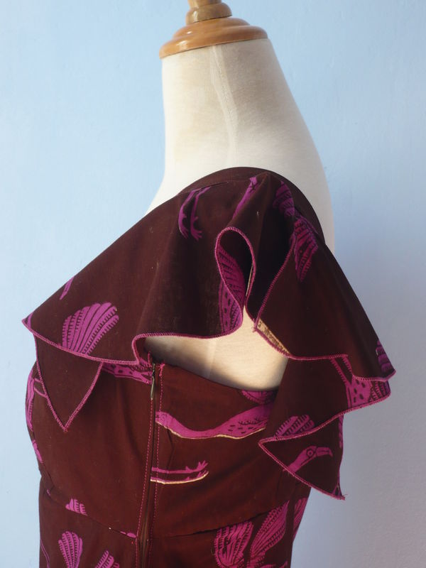 Robe aux flamants roses
