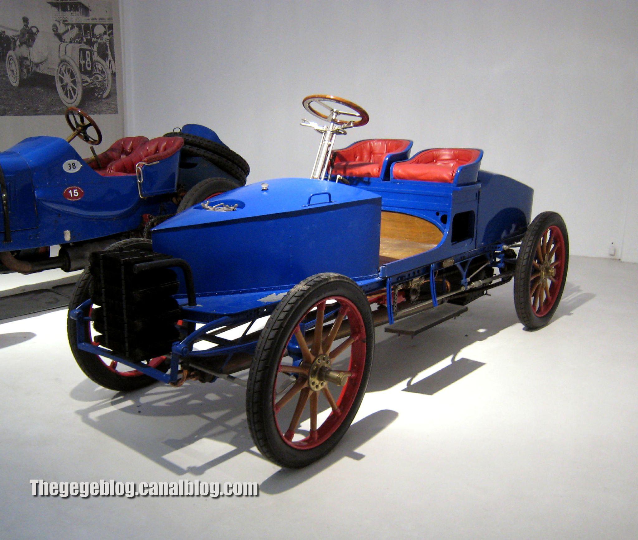 Serpollet type H biplace course de 1902 (Cité de l'Automobile Collection Schlumpf à Mulhouse) 01