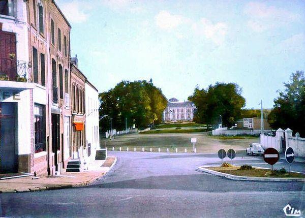 WIGNEHIES-Place de la Mairie